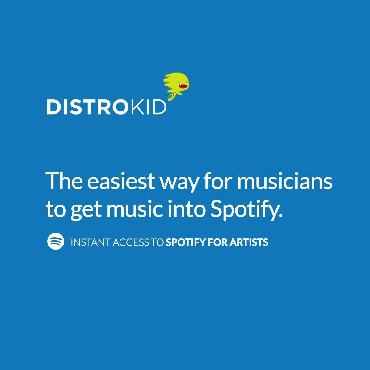Instant Spotify verification with DistroKid